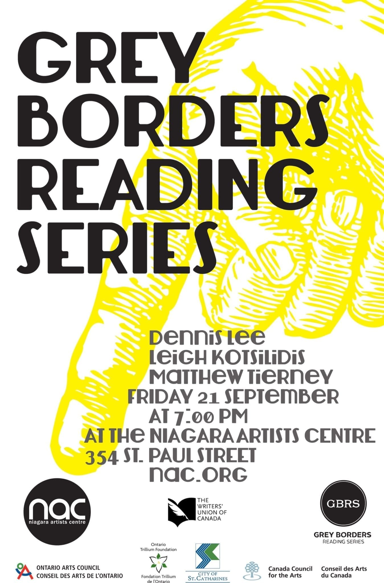 Grey Borders Reading Series