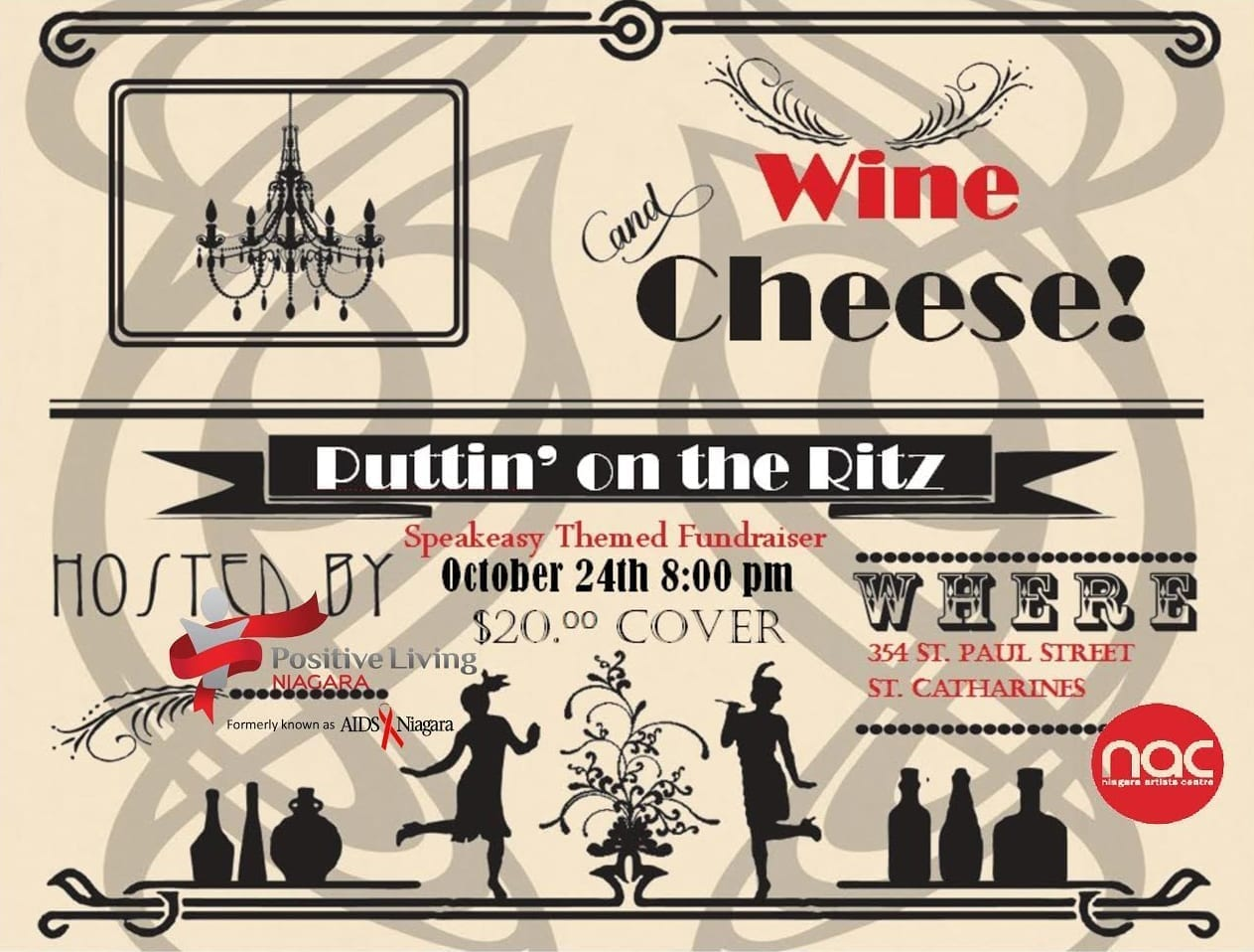 Puttin' on the Ritz hosted by Positive Living Niagara