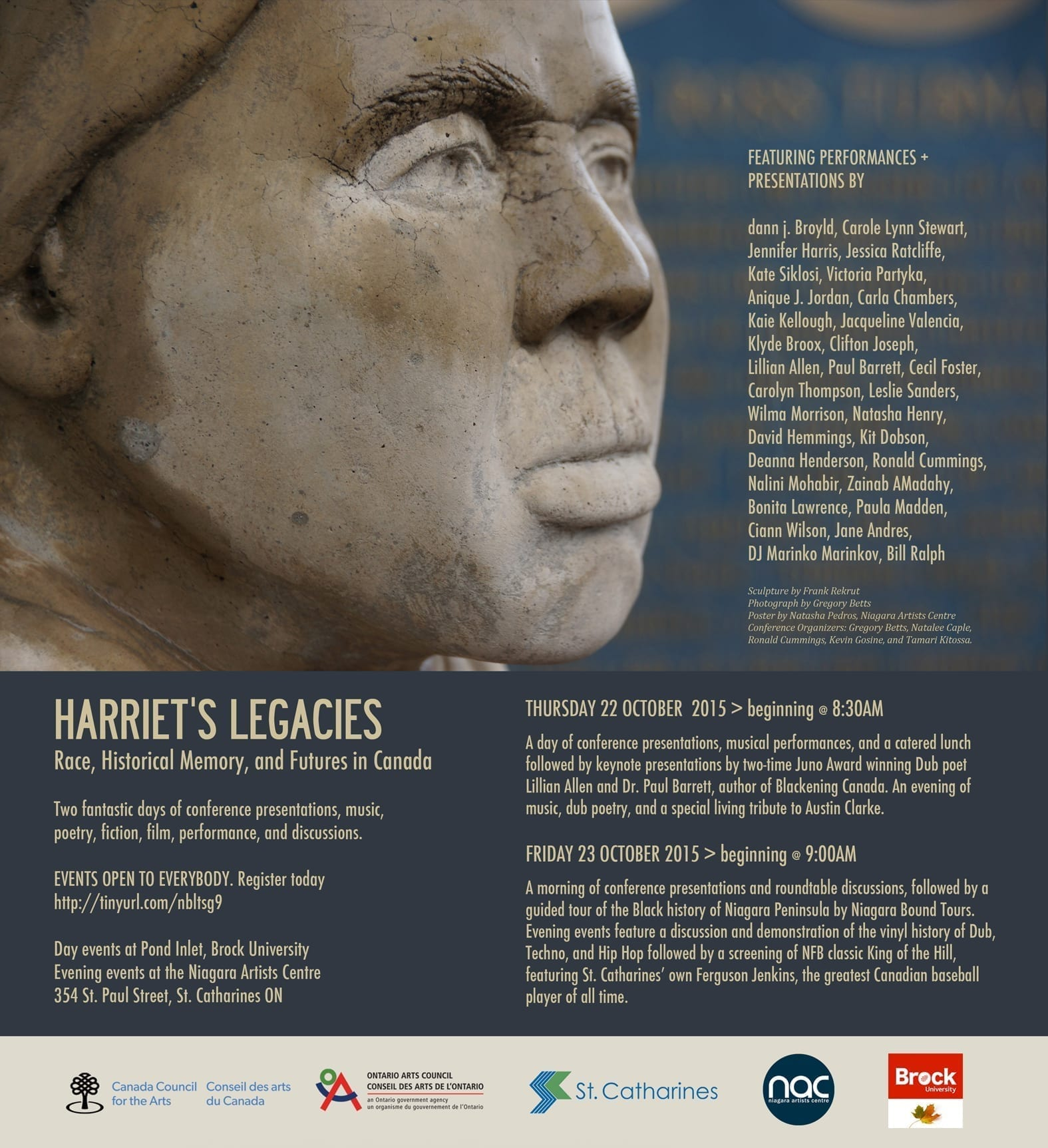 Harriet's Legacies: Race, Historical Memory and Futures in Canada