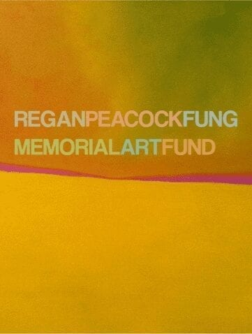 Regan Peacock Fung Memorial Art Fund 2017