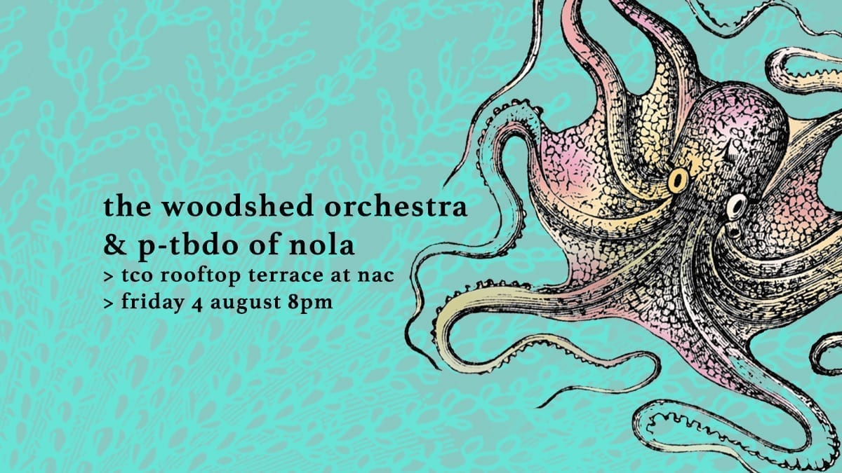 The Woodshed Orchestra and P-TBDO