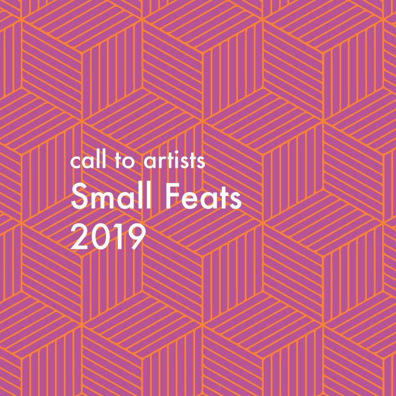 SMALL FEATS 2019 / Call to Artists