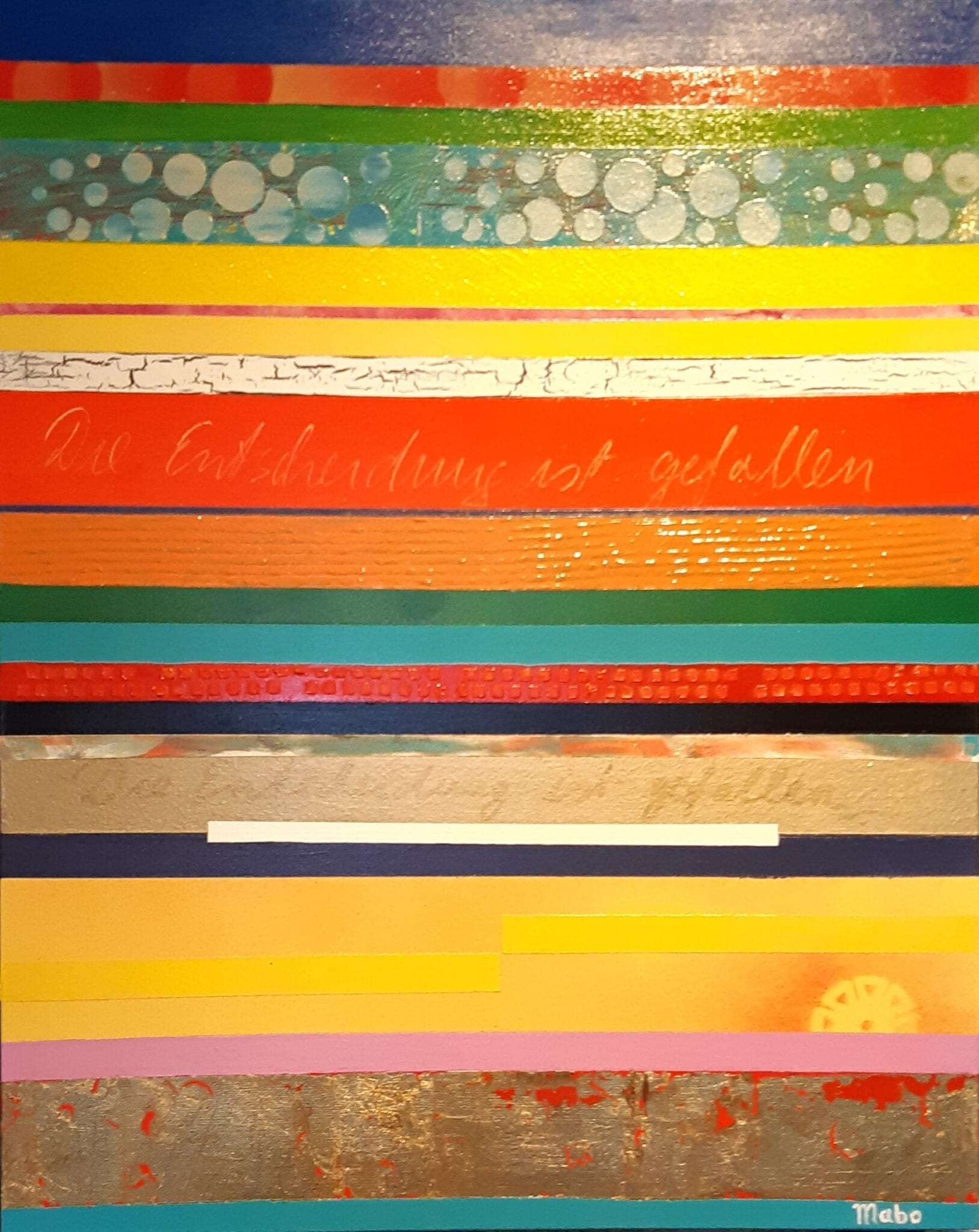 Poetry in Colours : MABO